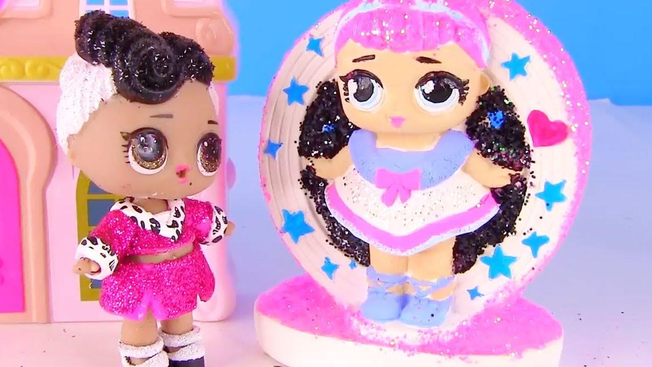 Куклы Лол Сюрприз! Банкомат Лол и поездка к Барби - Lol ...