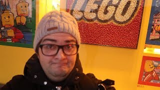 VLOG - VISITE LEGO STORE PARIS DISNEY VILLAGE