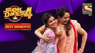 "Hema जी ने  Dharam Ji बनकर  Dance किया ""Main Jat Yamla Pagla Diwana"" पर  Super Dancer 4 सुपर डांसर 4"