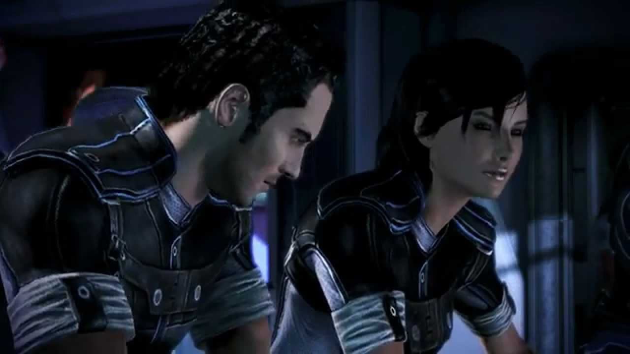 Mass Effect 3 Citadel Dlc After Party Back To The Normandy Youtube