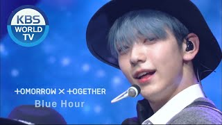 Download TOMORROW X TOGETHER - Blue Hour (Music Bank) | KBS WORLD TV 201106