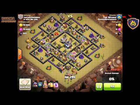 Burma Apotheosis - Clash of Clans