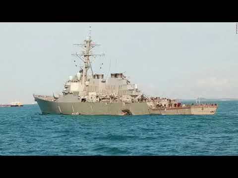 10 US Navy Sailors Missing After Destroyer Collides With Merchant Ship