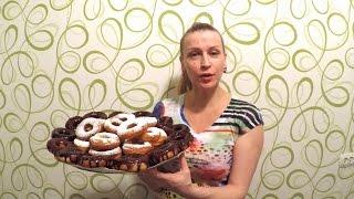 Вкусные Пончики рецепт Секрета приготовления десерта дома к чаю