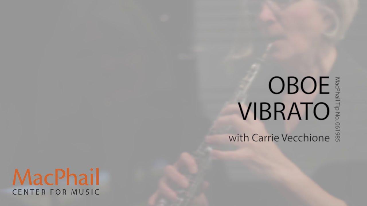 Oboe Vibrato Youtube