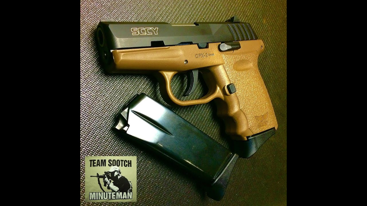 Concealed Carry On A Budget Sccy CPX 2 9mm