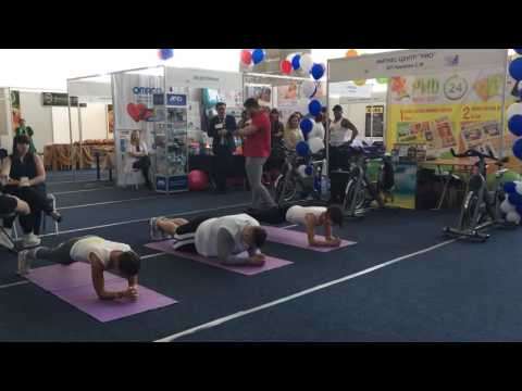 Планка от тренеров фитнес-центра Рио