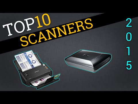 Top 10 Scanners 2015 | Best Document Scanner Review