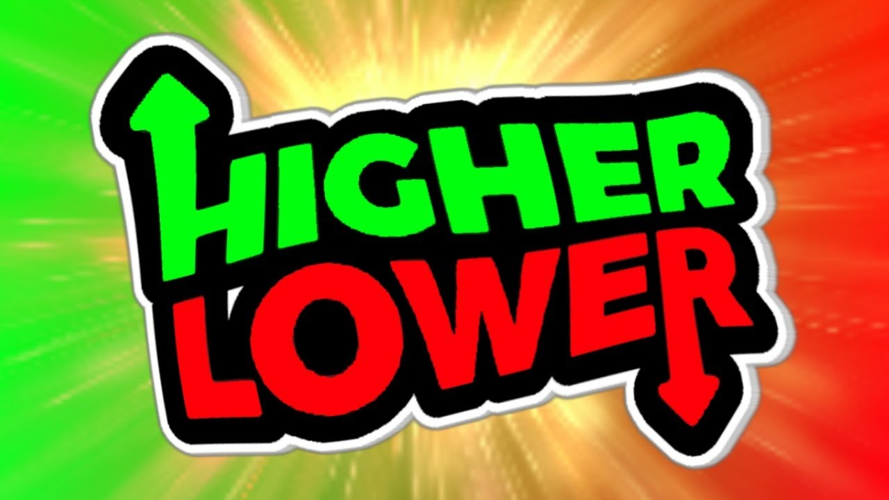 Lower Or Higher Game