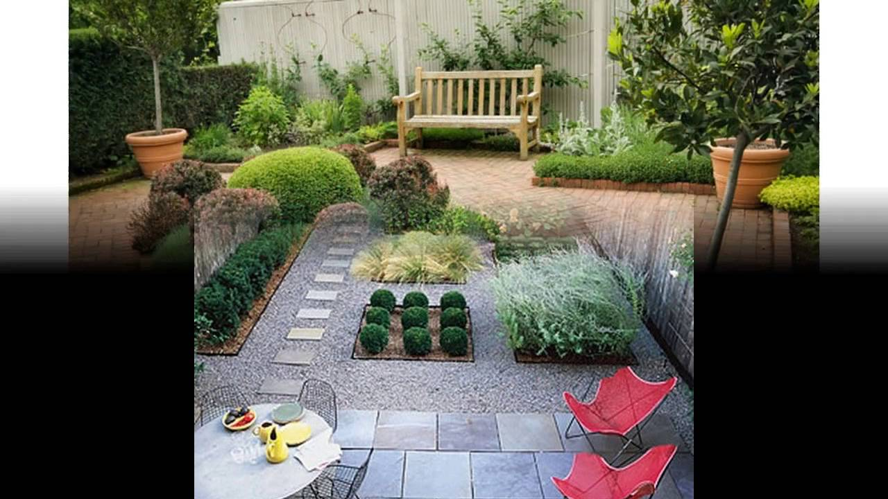 Small garden inspiration ideas - YouTube
