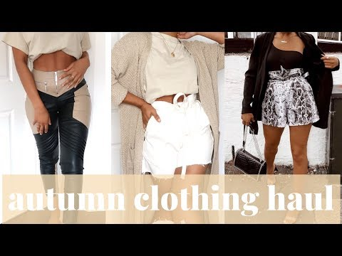 AUTUMN TRY ON CLOTHING HAUL | REBELLIOUS FASHION | SARAHJOHOLDER