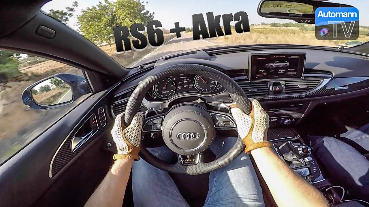 Audi RS Performance Akra Handling DRIVE FPS YouTube - Audi rs6 2018
