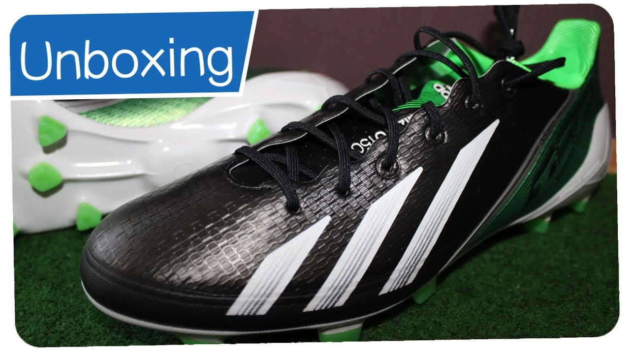 adidas f50 adizero black green white