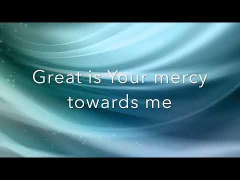 Donnie McClurkin Great Is Your Mercy (Lyrics)