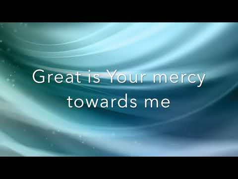 Donnie McClurkin Great is Your Mercy (Lyrics)