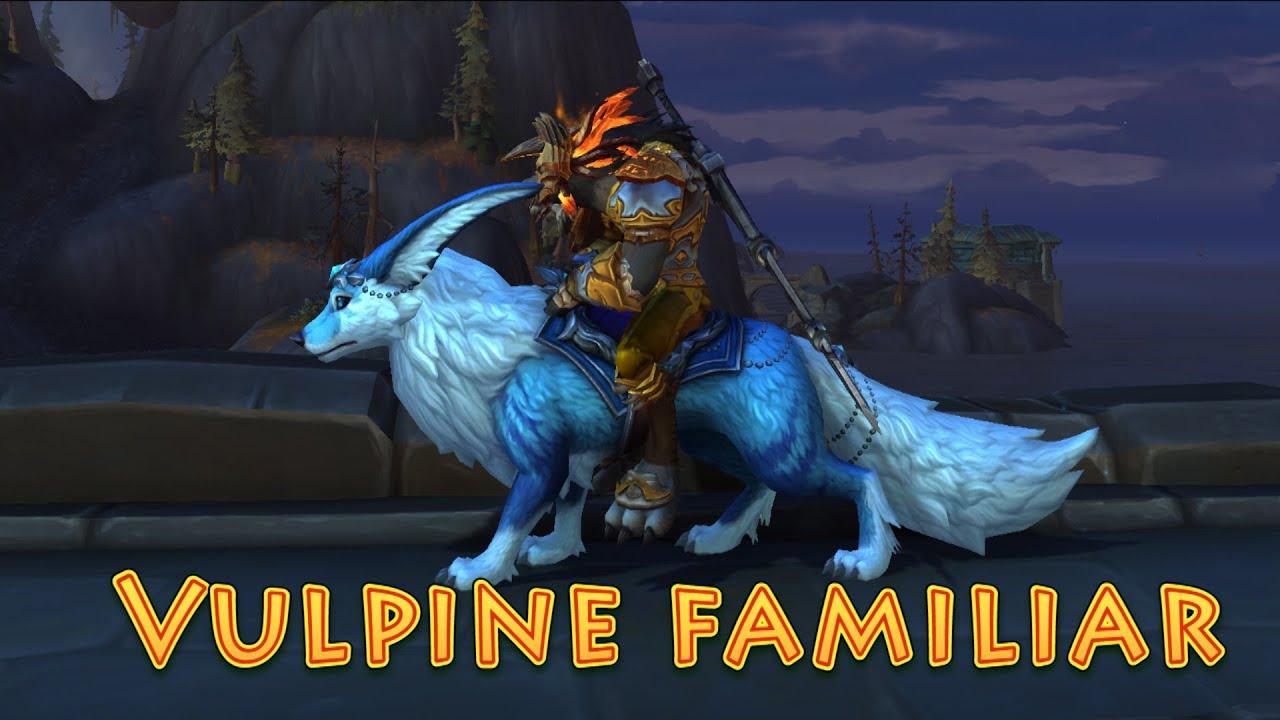 World of Warcraft Mount Showcase: Vulpine Familiar