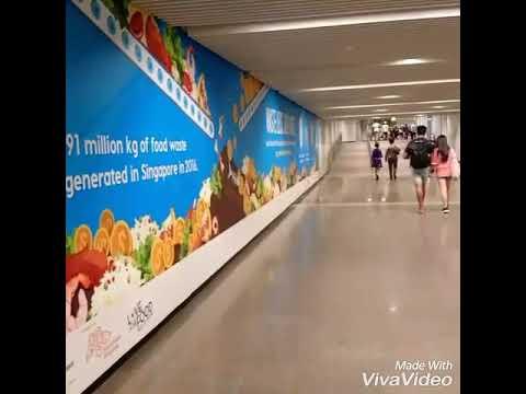 Underground MRT In Singapore
