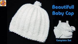 NEW BORN BABY CAP : 0 - 6 : L-59 (Hindi) Jasbir Creations.