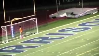Fußballer gelingt Treffer aus 61 Metern