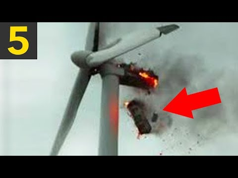 Top 5 Wind Turbine FAILS & Mishaps