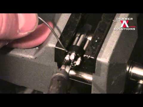 How to solder XLR connectors