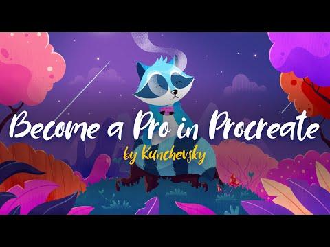 Become A Pro In Procreate By Kunchevsky
