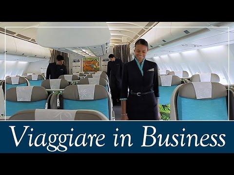 Viaggiare in Business Class con Air Tahiti Nui [ENG subs]