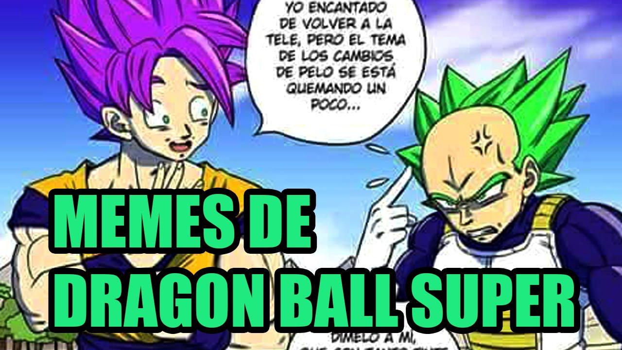 Memes De Dragon Ball Super Youtube