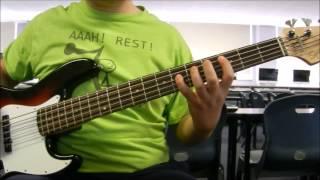 Ending Sequence (Sonic 2) - Masato Nakamura | Bass Cover
