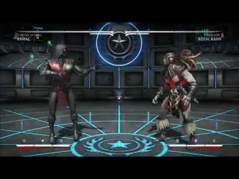 MKX Ermac Anti Air Options (Universal/MOS) [Ermac Guide: Link in Desc]