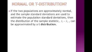 01 Intro to 2 Sample T Test