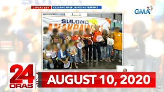 24 Oras Express: August 10, 2020 [HD]