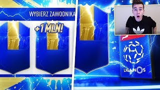 JESTEM KRÓLEM PLAYER PICKÓW! TOTS WARTY MILION COINSÓW! | FIFA 19 PACK OPENING