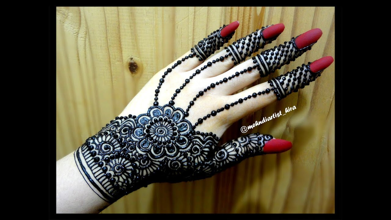Best Henna Designs Flowers: Beautiful Best Gulf Flowers Girly Trendy Easy Simple Henna