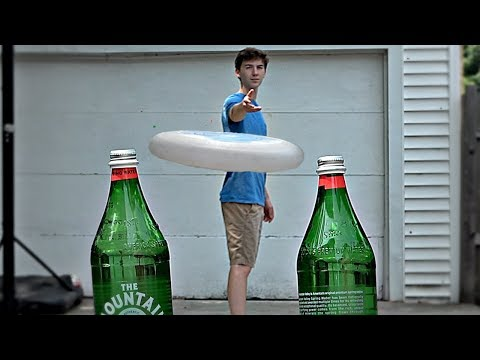Bottle Cap Challenge Trick Shots | Thats Amazing