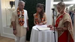 Дуэт The Зажигалкин`s - проведение свадьбы в индийском стиле. Ведическая Кришнаитская свадьба.