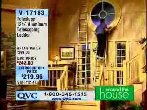 Home Shopping Network Ladder Fall