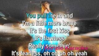 Fearless Official Karaoke/Instrumental