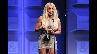 Britney Spears received 'The Vanguard Award' at the 2018 GLAAD's Media Awards