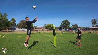 Defending Drills   Pro session   Soccer   Right back   2   Joner 1on1