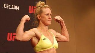 Video UFC 219 Weigh-In Highlights Holm vs Cyborg l UFC 219 download MP3, 3GP, MP4, WEBM, AVI, FLV Juli 2018