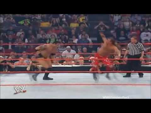 Finishers in 60 Seconds Sweet Chin Music/Super Kick (Shawn Michaels)