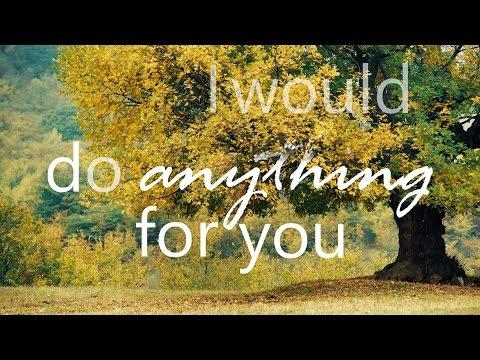 Ryan Follese - One Thing Right (Lyrics)