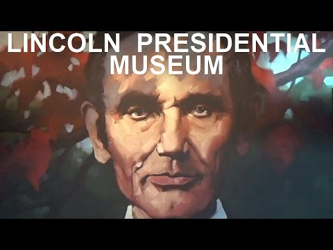 The Lincoln Presidential Museum - Stovepipe Hats, Holograms & History In Springfield Illinois
