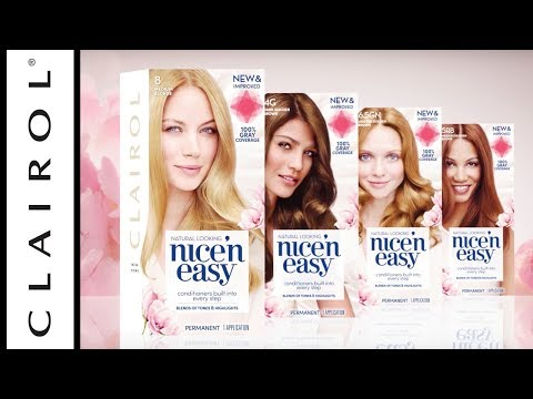 New Formula: Nice 'n Easy Hair Color | Clairol