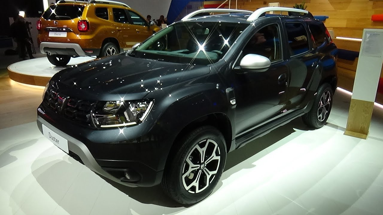 2018 dacia duster prestige exterior and interior iaa for Interieur nouveau duster