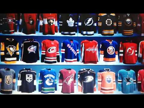 2017-18 Adidas NHL Jerseys: Part 3 - Central Division Part 1