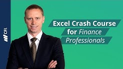 Excel Crash Course for Finance Professionals - FREE | Corporate Finance Institute