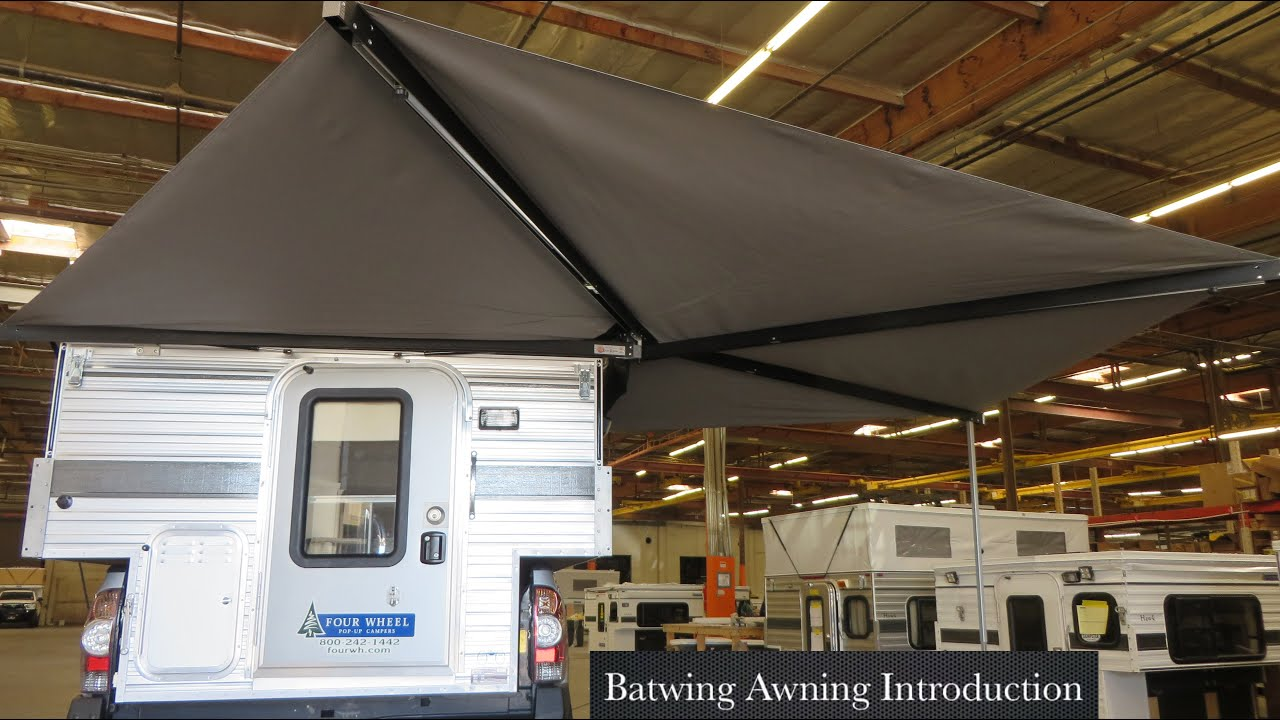 Batwing Awning Introduction Four Wheel Campers Youtube