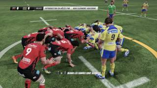 ASM CLERMONT - TOULON : Rugby Challenge 3 [PC]